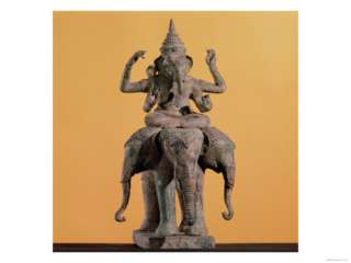 Statue of the Hindu God Ganesh Giclee Print at AllPosters