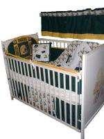 Baby Nursery Crib Bedding Set w/Green Bay Packers NEW |