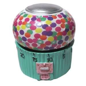 Kitchen Timers   Ceramic Hand Painted Gumball Machine Design