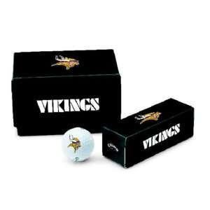 Minnesota Vikings NFL Logo Golf Balls   Dozen Sports