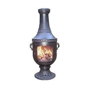 The Blue Rooster Venetian Style Chiminea: Patio Furniture & Decor