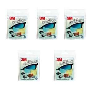 3M Microfiber Lens Cleaning Cloth   Pack of 5