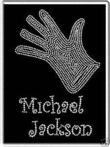 Michael Jackson Rhinestone Iron On Heat Transfer