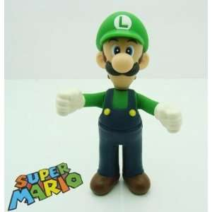 5 Luigi Figure ~Super Mario Characters Figure Collection
