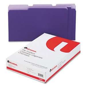 UNIVERSAL OFFICE PRODUCTS 10525 Colored File Folders 1/3