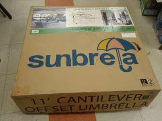 Sunbrela Outdoor Umbrella Base Cantilever Offset Umbrella