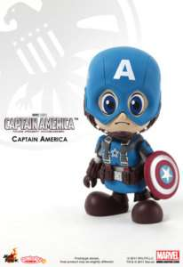 HotToys Hot toys CosBaby Avengers Figure Captain America