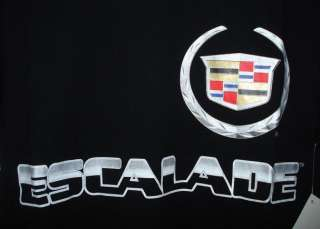 CADILLAC AUTHENTIC ESCALADE SCREEN PRINTED T  SHIRT L