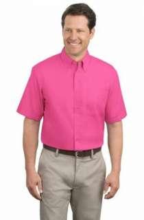Port Authority Short Sleeve Button Up Shirt 2XL 6XL