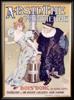 Absinthe Parisienne Framed Giclee Print by Gelis Didot & Maltese at