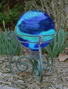 gazing ball stand will hold any 10 glass or stainless steel gazing