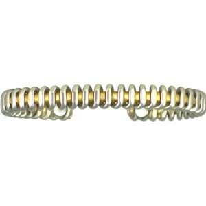 Silver Coil   Copper Magnetic Therapy Bracelet   Made in USA! (lub761