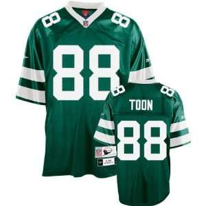 Al Toon Green Reebok NFL Premier 1988 Throwback New York Jets Jersey