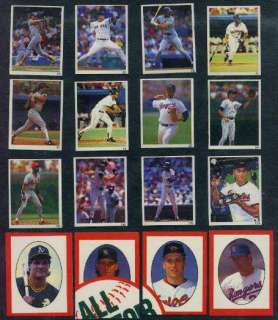 Mark McGwire #67 1992 Red Foley Sticker