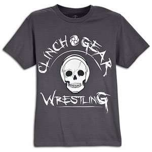 Clinch Gear Skull T Shirt   Mens  Sports & Outdoors