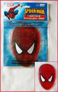 MARVEL SPIDERMAN First AID Gel ICE COLD PACK Kids   NEW