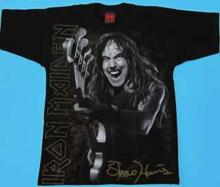Iron Maiden   Steve Harris Special Collection T shirt size S   L NEW
