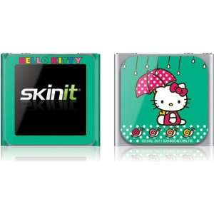 Skinit Hello Kitty Polka Dot Umbrella Vinyl Skin for iPod