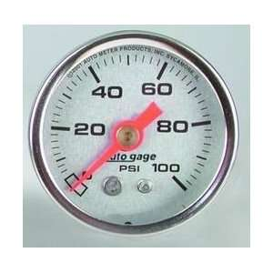 Auto Meter 2180 1 1/2IN PRESSURE GAUGE   Automotive