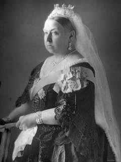Queen Victoria at Her Diamond Jubilee Premium Photographic Print at