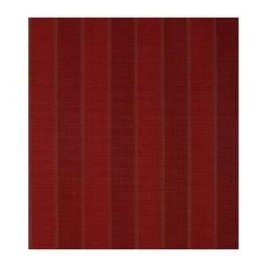 Waffle Texture Stripe Wallpaper, Crimson/Gold: Home Improvement