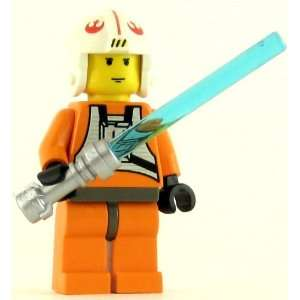 LEGO Minifig Star Wars Luke Skywalker Pilot Toys & Games
