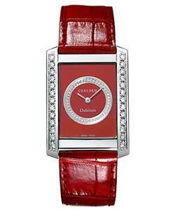 Concord Delirium 18k White Gold Diamond Watch  Overstock