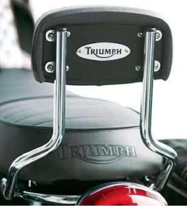 TRIUMPH BONNEVILLE/T100 HIGH SISSY BAR BACKREST KIT
