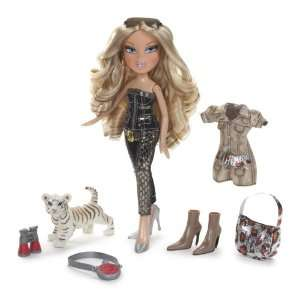 Bratz Wild Life Cloe with White Tiger and Extra Fashion Toys & Games