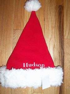 POTTERY BARN KIDS SANTA HAT Hudson