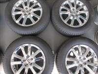 Edge Factory 18 Chrome Clad Wheels Tires Flex OEM Rims Michelin 3849