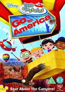 LITTLE EINSTEINS GO TO AMERICA ARABIC CARTOON DVD WITH ENGLISH SUBS