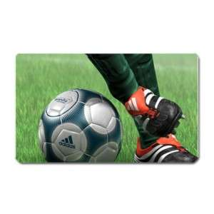 Soccer Ball Player Football Sports Large Fridge Magnet