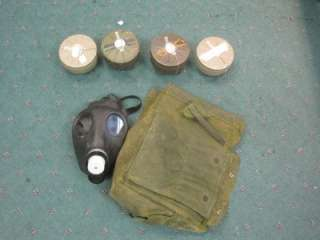 Military Survival Riot Revolution Gas Mask + Filter