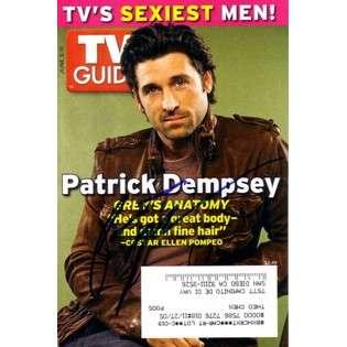 AutographsForSale Patrick Dempsey autographed TV Guide magazine
