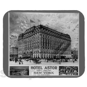 Hotel Astor c1900 Mouse Pad