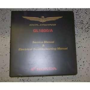 2008 2009 2010 Honda Gold Wing GL1800 GL1800/A Service Shop Manual OEM