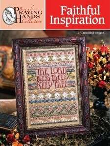 Faithful Inspiration Praying Hands Cross Stitch Book