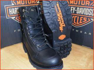 NEW HARLEY DAVIDSON VANTAGE LACE UP BOOTS MENS 9.5   13