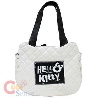 Hello Kitty Angry Kitty Quilted Face Hand Bag Loungefly Shoulder Bag