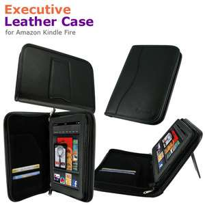 Executive Leather Case Cover for  Kindle Fire 7 Inch Tablet