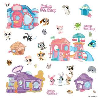 Littlest Pet Shop Boys Girls Vinyl Wall Sticker Decal