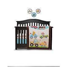 Line Road Rally 7 Piece Crib Bedding Set   Kids Line   Babies R Us