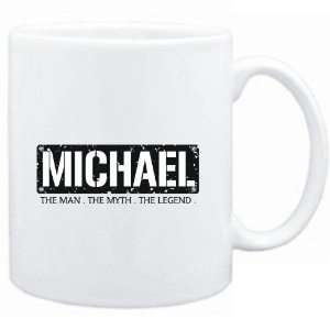Mug White  Michael  THE MAN   THE MYTH   THE LEGEND  Male Names