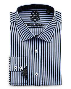 English Laundry Striped Button Down Shirt, Blue