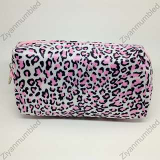 Fashion Cute Leopard Print Coin Case Makeup Pouch Card Bag Purse Zero