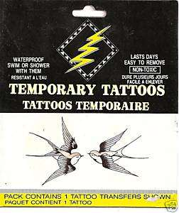 Almost Forever Bird ~ Temporary Tattoos