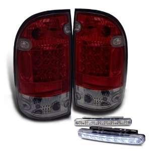 Eautolight 95 00 Toyota Tacoma LED Tail Lights Lamp+led