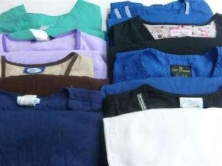 Medical Dental Scrubs Lot of 8 Outfits Sets Size 2XL 2X XXL