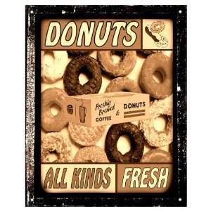 Donut shop Sign Deli Diner pastries Sign / retro vintage Wall decor